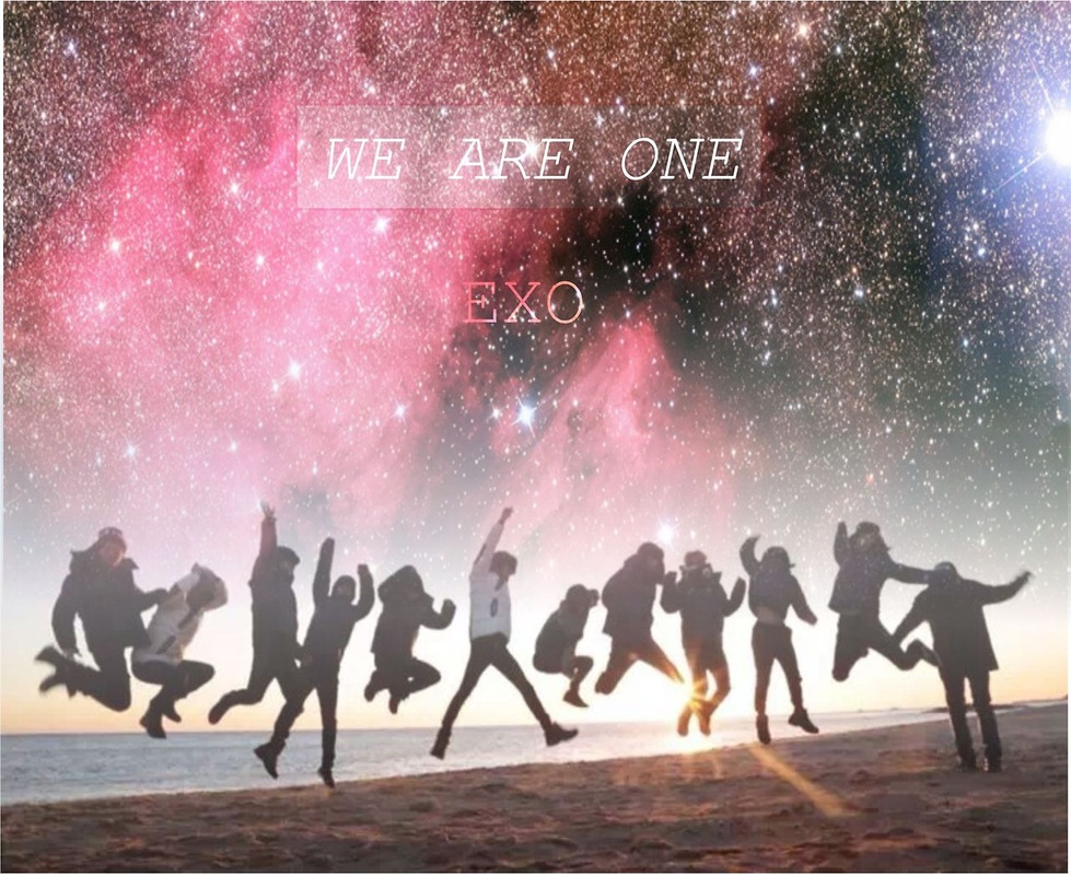 e x o forever we are one